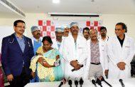 'పినాకిల్'లో బ్లూబేబీ ఆపరేషన్ విజయవంతం